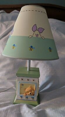 Winnie The Pooh And Friends Table Lamp W/ Shade
