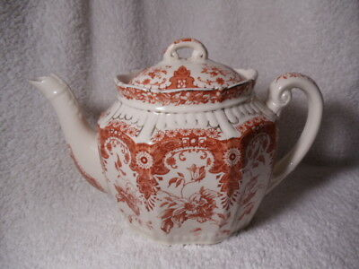 """Antique Teapot Keeling & Co. Late Mayers Tenby 5 3/4"""" High  Circa 1800'snote"""