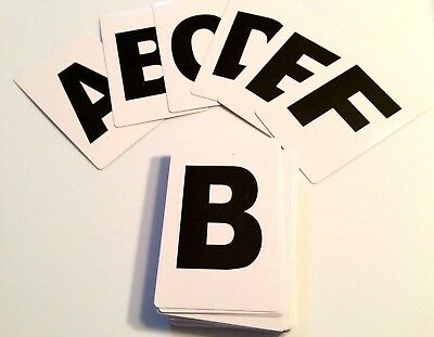 ALPHABET DECK Magic Trick ABC's Gag Playing Cards Spelling Pick A Letters Joke