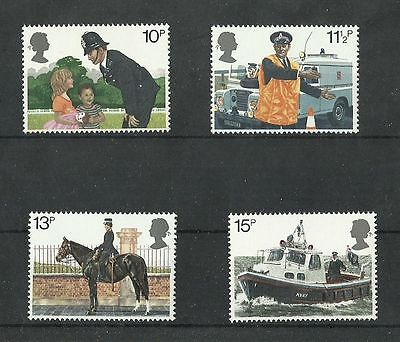 Great Britain 1979 Police  MNH