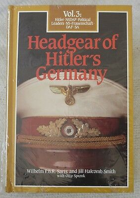 BENDER WW2 Collector Reference BOOK HEADGEAR of HITLERS GERMANY Vol.3 New Unused