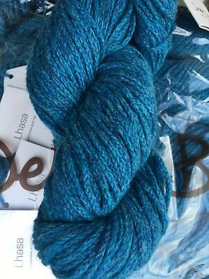 Debbie Bliss Lhasa shade 07 Teal - sold per 50g Skein