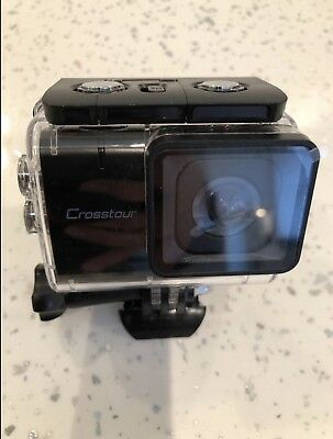 CROSSTOUR ACTION CAMERA 4K 16MP Wifi Underwater 30M with Remote ... 94598bc294f2