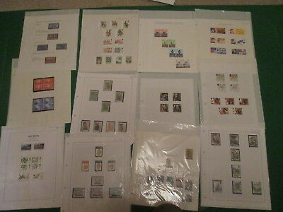Job Lot Of Mainly 1980's Gb Commemorative Stamps - Mixed Lot