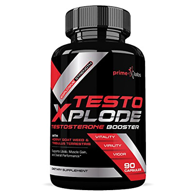NATURAL FREE TESTOSTERONE Booster For Men & Women - Build Muscle