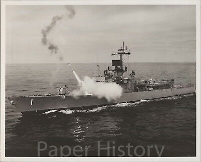 N4 8X12 PHOTO US Navy USN guided missile frigate USS Ford FFG 54