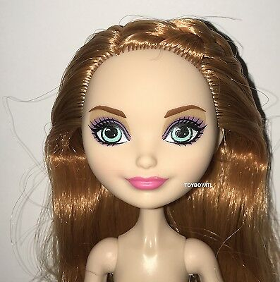 Ever After High Powerful Princess Tribe Holly O'Hair Nude Doll NEW OOAK or Play