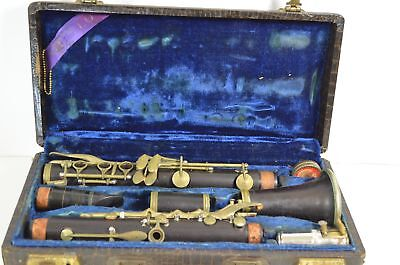Vintage OTELLO Wooden Clarinet WC ACOUSTIC SUMNER 2 Mouthpiece MILANO, ITALY
