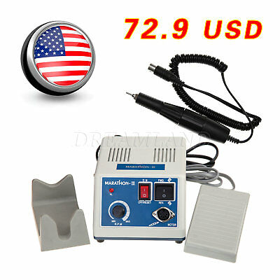Dental Marathon Polishing Control Electric 35K-RPM Micromotor Handpiece dentist