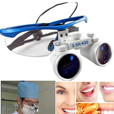 Moden Dental Zahnärzt 2.5X420mm Brillenlupe Lupenbrille Lupe Glasses Lens Loupes