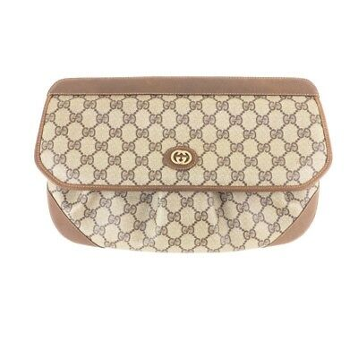 cad8a73ae8e0d4 VINTAGE GUCCI EXTREMELY Rare Monogram Large Clutch Bag.NFV4971 ...