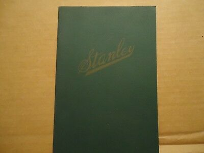 Vintage 1911 Stanley Steamer Cars Brochure Catalog