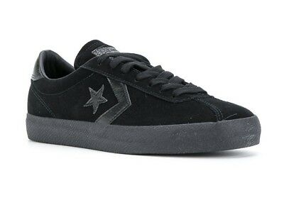 c4c6e991e811bf Converse Cons Break Point Mono Suede OX Black Low Top Sneaker 153988C