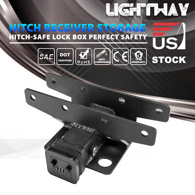 HITCH SAFE LOCK BOX HitchSafe Storage Box  FJM SECURITY KEY VAULT For Key Card
