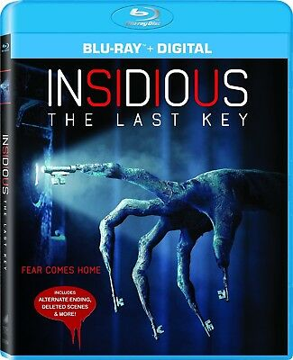 Insidious: The Last Key (Blu-ray Disc, 2018) NEW