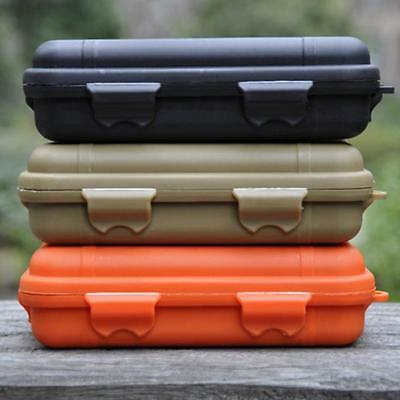 Carry Box Waterproof Shockproof Plastic Outdoor Survival Container Storage Case
