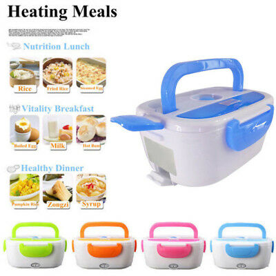 Portable Electric Heated Lunch Box Food Storage Warmer Container 40W 220V CHZ