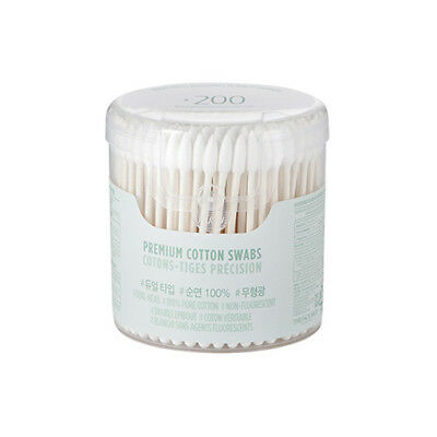 [THE FACE SHOP] Daily Beauty Tools Premium Cotton Swabs - 1pack (200pcs)