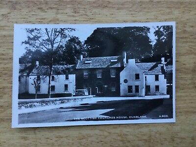 Real Photograph Postcard - The Scottish Churches House, Dunblane.