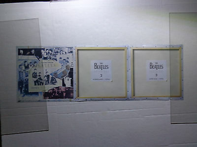 The Beatles Anthology 1,,2,3 Promo Store Poster -12 X 36""