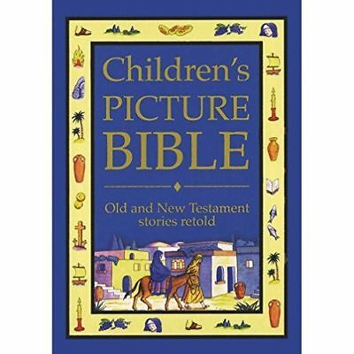 Children's Picture Bible Old & New Testament Hardback Illustrated 918 Unused