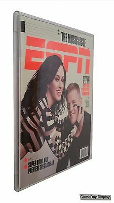 ESPN or Old Rolling Stone Wall Mount Magazine Display by GameDay Display