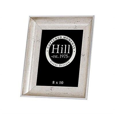 Antique Silver Crackled Effect Photo Frame 8x10