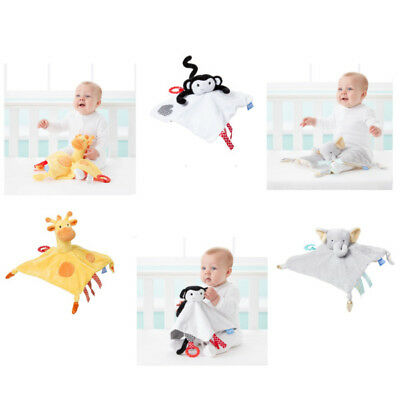 Grobag Comforter 3 in 1 Finger Puppet, Baby Teether & Comforting Cot Soft Toy
