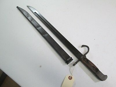 Wwii Japanese Bayonet Tokyo Mark With Scabbard Blade Minty #j13