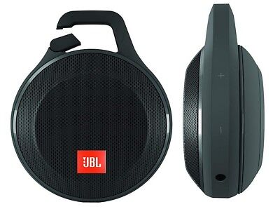 JBL Clip+ Splashproof Portable Wireless Bluetooth Speaker (Black)