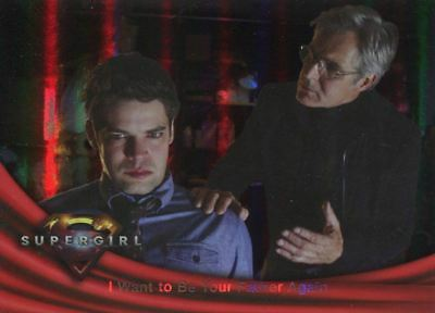 Supergirl Season 1 Rainbow Foil Base Card #37 I Want To Be Your Father Again