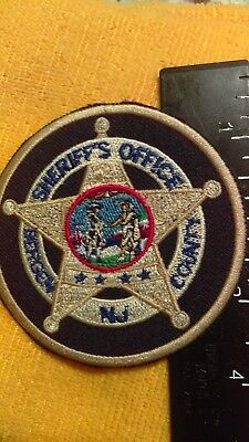North Jersey County Police Sheriff Embroidered Shoulder Patch