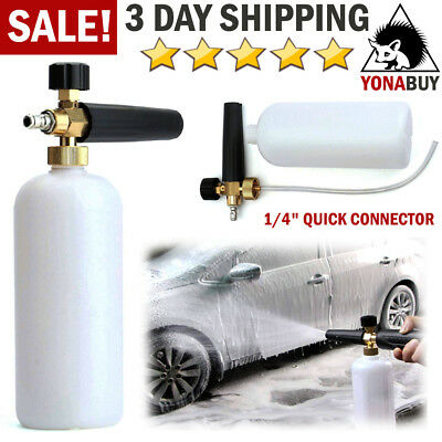Snow Foam Lance Cannon Soap Bottle Car Wash Jet Sprayer for High Pressure Washer