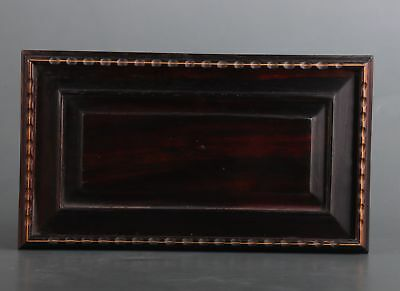 Rare Chinese Old Wood Hand Collection Gift Box Jewelry Box Upscale