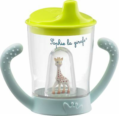 Sophie the Giraffe NON-SPILL CUP Ergonomic Grip 180ml Baby/Toddler BN