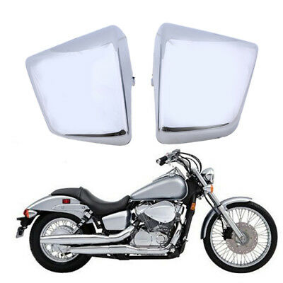 For Honda Shadow VT750 C D VT400 1997-2003 Chrome Battery Side Fairing Cover