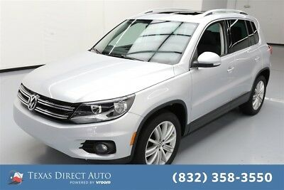 2015 Volkswagen Tiguan SEL Texas Direct Auto 2015 SEL Used Turbo 2L I4 16V Automatic FWD SUV Moonroof