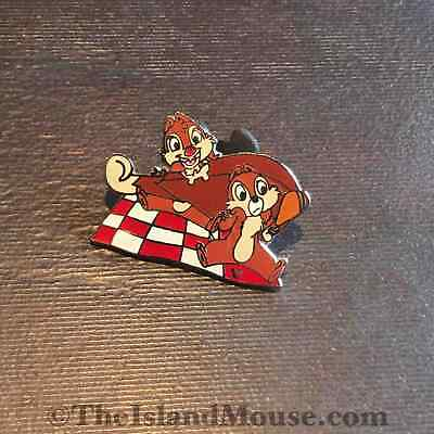 Disney Cast Lanyard Chip Dale w Food Turkey Leg Picnic Pin (UJ:37457)