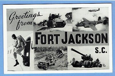 greetings fromm fort jackson s.c. , etc.