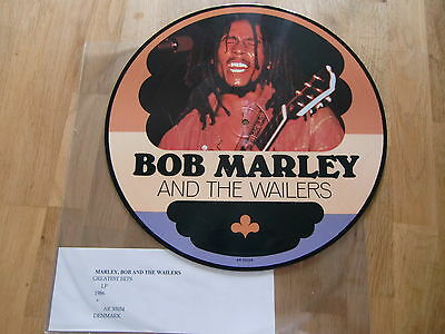 """Bob Marley And The Wailers / Greatest Hits /  Rare Picture Disc 12"""" !!"""