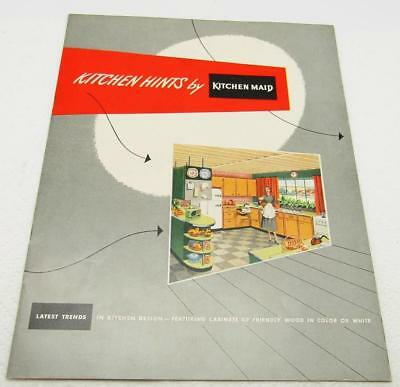 Mid Century Planning Bathrooms Booklet & Kitchen Maid Design Lot x 2 Very Nice