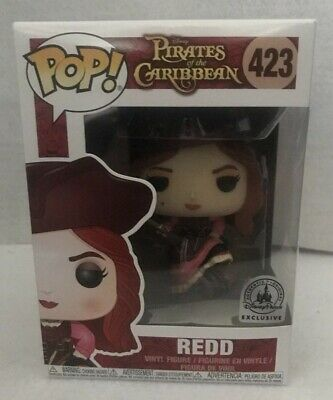 Disney Parks Funko POP! The Redhead Redd Red Head Pirate Of The Carribbean NEW