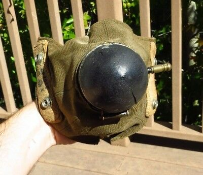 Original WW2 British Canadian RAF RCAF D Type Oxygen Mask