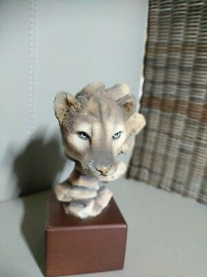 'Cougar Intuition' Mill Creek Figurine