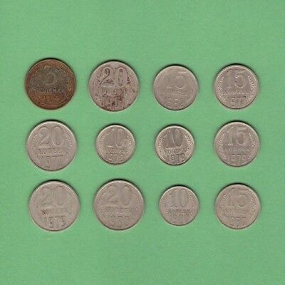 Russia - Coin Collection - Lot # X-3 - World/Foreign/Europe