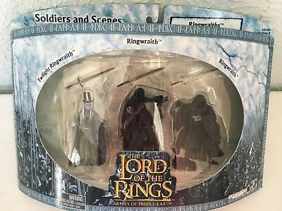 New The Lord Of The Rings Armies Of Middle-Earth Ringwraiths 3 Figures 48100