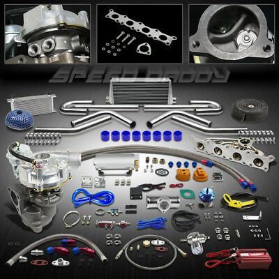 K03 17Pc Turbo Charger+Manifold+Intercooler Kit 97-06 Audi A4/98-05 Vw Passat