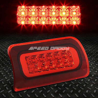 For 1994-2003 Chevy S10/gmc Sonoma Red Housing Third 3Rd Brake Led Light Lamp