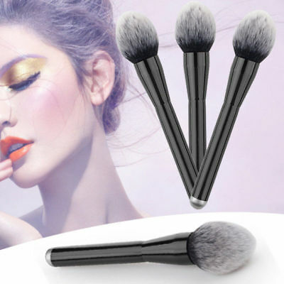 Large Soft Beauty Powder Big Blush Flame Brush Foundation Make Up Cosmetic Tool