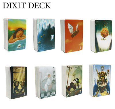 2019 Dixit English Rules Board Game For Home Party